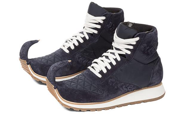 Loewe Dinosaur sneakers high navy