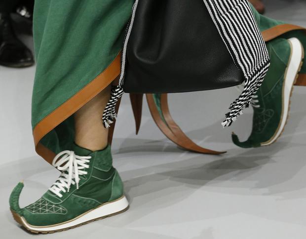 Loewe Dinosaur sneakers green