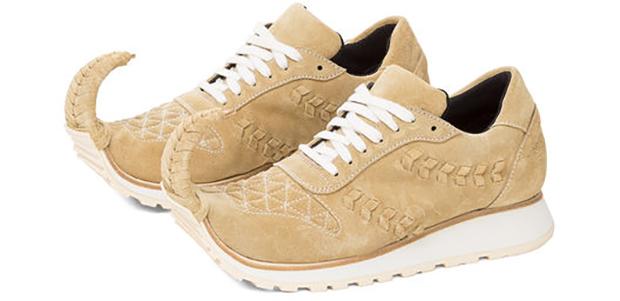 Loewe Dinosaur sneakers gold