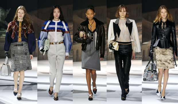 Louis Vuitton Fall Winter 2018 looks