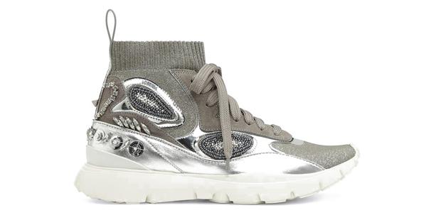 Valentino silver sneakers