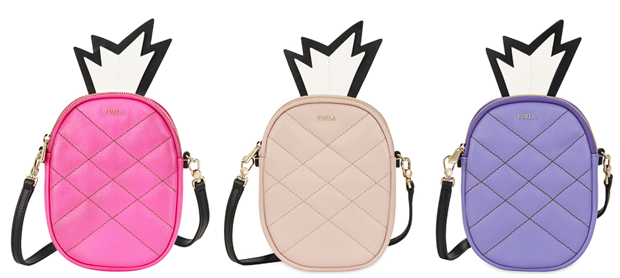 Furla Golosa pineapple crossbody