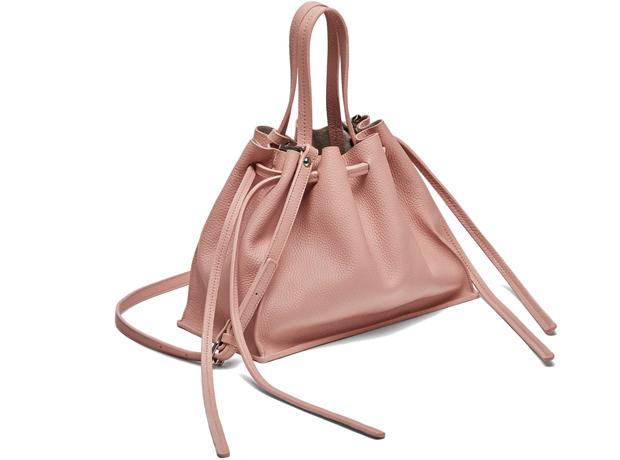 Zara bucket bag string pink