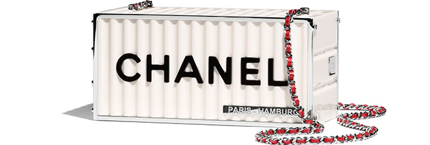 Chanel Paris Hamburg clutch container