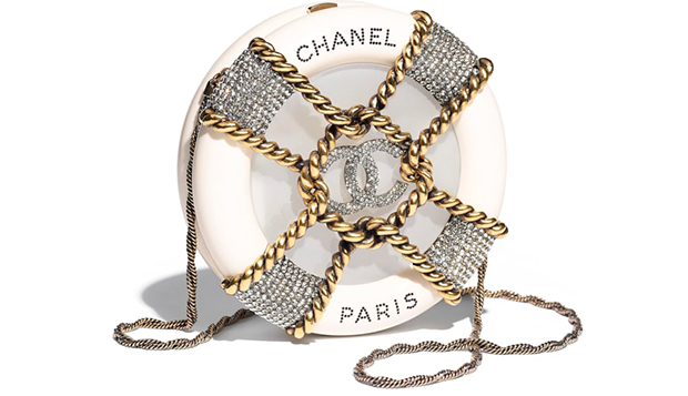 Chanel Paris Hamburg clutch minaudière