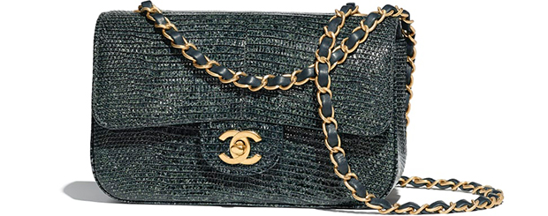 Chanel Paris Hamburg flap bag lizard