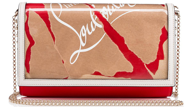 Christian Louboutin Paloma clutch kraft
