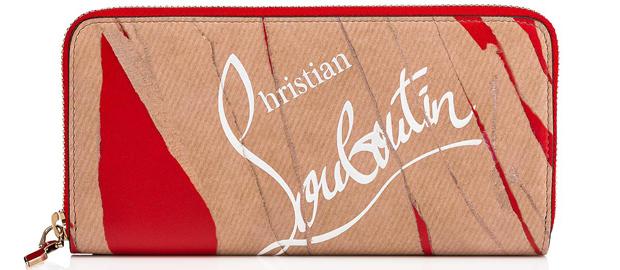 Christian Louboutin W panettone wallet kraft