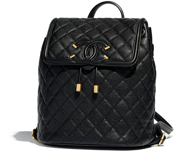 Chanel pre autumn winter 18 backpack grained calfskin
