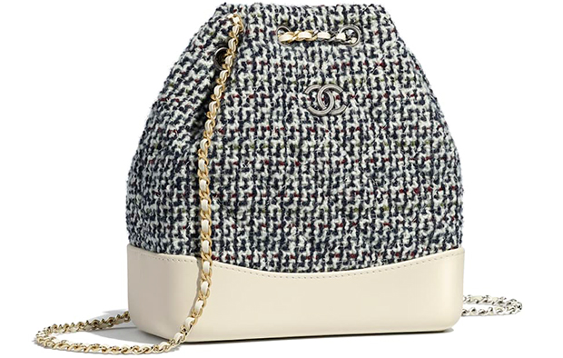 Chanel pre autumn winter 18 Gabrielle small backpack tweed