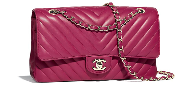 Chanel pre autumn winter 18 classic flap bag pink lambskin
