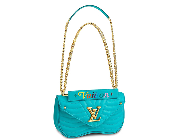 Louis Vuitton New Wave chain bag mm Malibu green