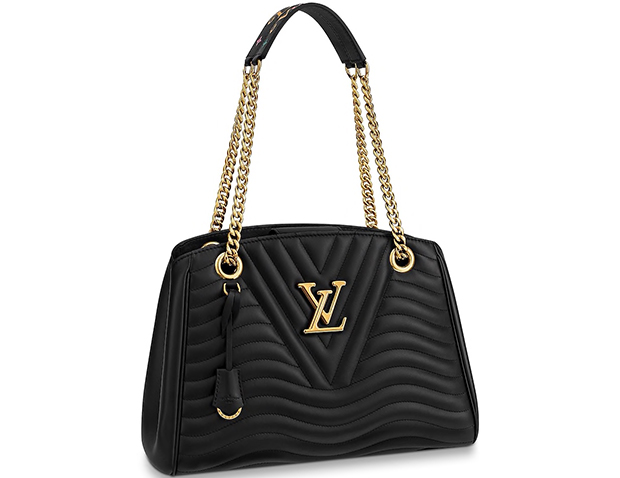 Louis Vuitton New Wave chain tote black