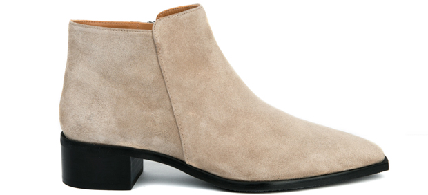 Flattered Nata sand suede boots