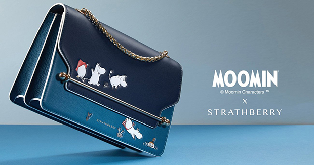 Strathberry x Moomin collectie