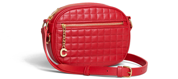 Celine C Charm small red