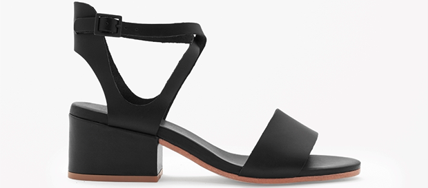 Cos cross-over strap sandals