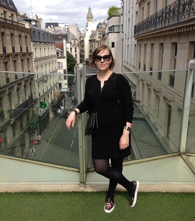 Visual diary Parijs 2014