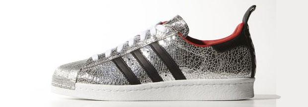 Adidas Superstar Topshop silver