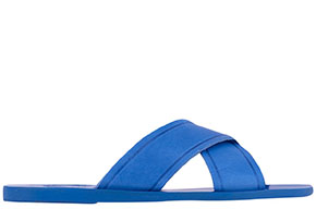 Ancient Greek Sandals blue