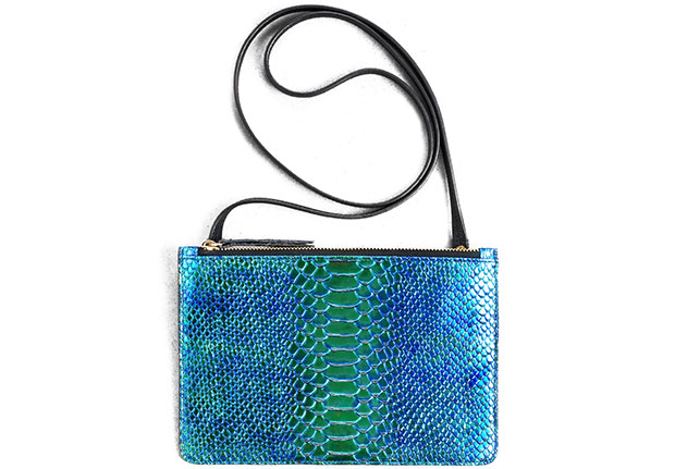 And Other Stories oily reptile clutch