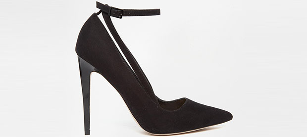 ASOS pledge heels black
