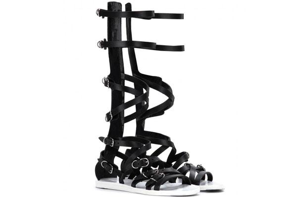 Balenciaga blck gladiator sandalen
