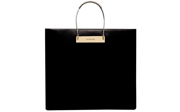 Balenciaga Cable shopper medium calfskin black
