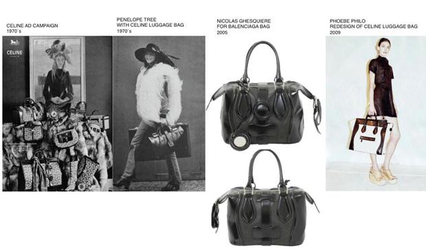Celine luggage history