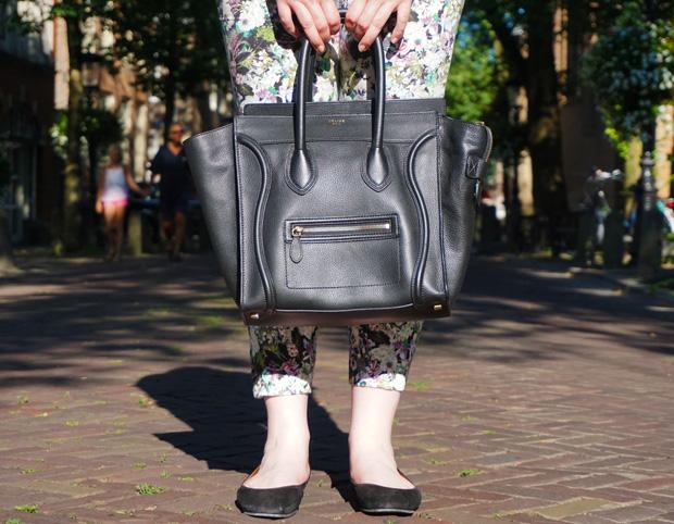 Céline mini luggage zwart