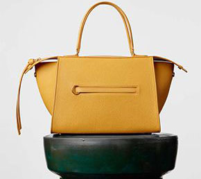 Céline collectie winter 2015 small ring bag amber