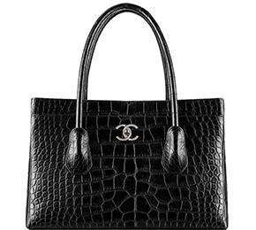 Chanel tassen fall 2014 alligator shopper