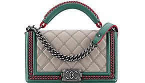 Chanel Paris Salzburg Boy bag top handle
