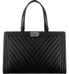 Chanel Boy shopping bag