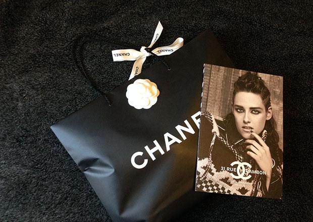 Chanel tas verpakking magazine