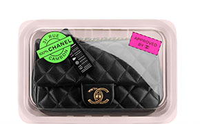 Chanel tassen fall 2014 classic flap packaged