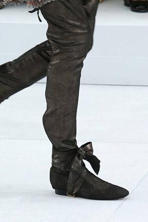 Chanel haute couture herfst 2014 schoenen