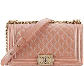 Chanel Cruise Dubai Boy bag medium pink