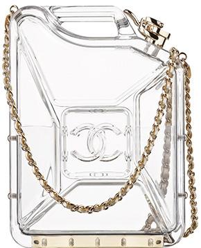 Chanel Cruise Dubai jerrycan clutch