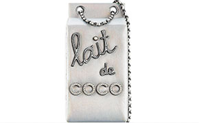 Chanel tassen fall 2014 lait de coco minaudiere