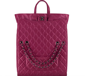 Chanel tassen fall 2014 pink shopping bag