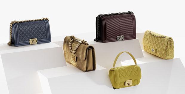 Chanel pre fall 2014 tassen