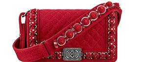 Chanel Paris Salzburg Boy bag felt