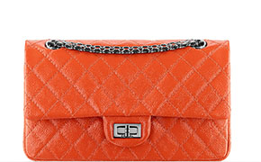 Chanel tassen fall 2014 orange reissue flap