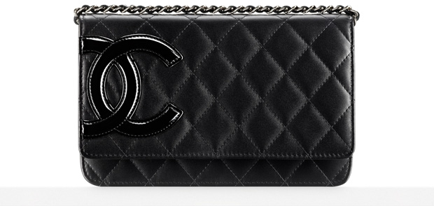 Chanel WOC quilted pink lining
