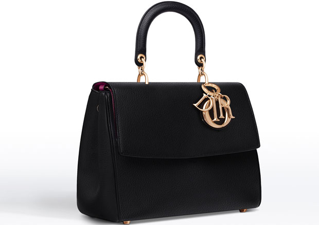 Dior Be Dior tas black bull calf