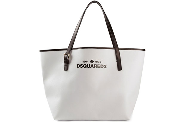Dsquared shopper white