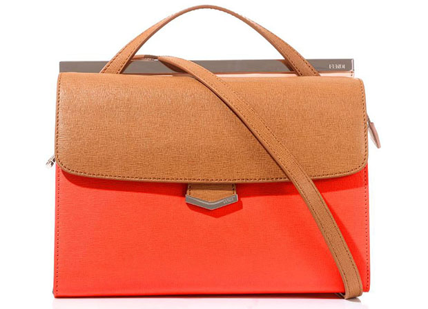 Fendi Demi Jours orange bag