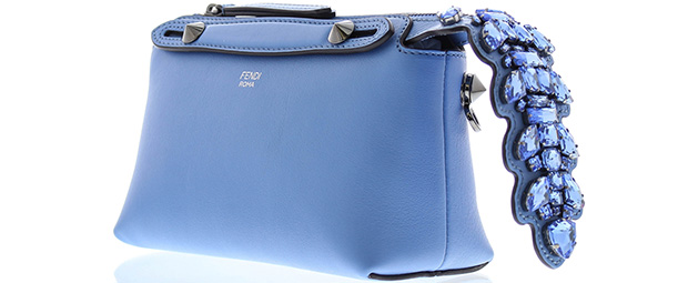 Fendi mini By the Way blue tail