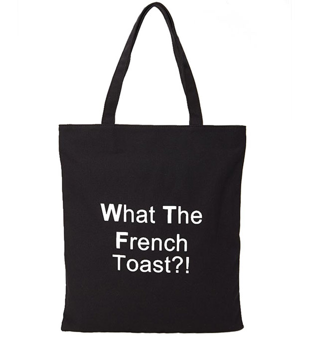 Stoffen Tas Forever 21 : Exit voor de designertas invasie van linnen tas